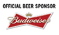 Budweiser Official Beer Sponsor